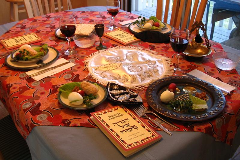 「過越の祭り」の食卓