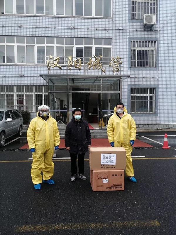 コロナウイルスに負けずマスク配布し伝道、武漢のクリスチャンに市民から称賛の声