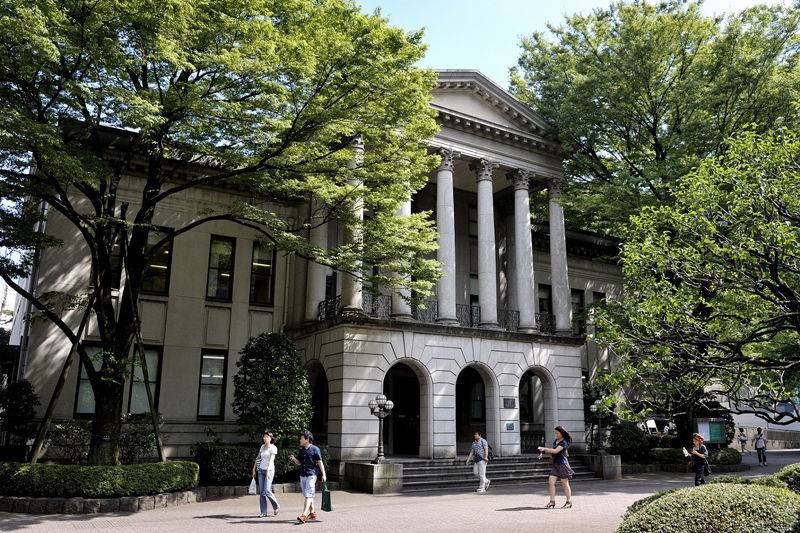 青山学院大学の青山キャンパス(東京都渋谷区)。東京都内では同大だけでなく、立教大学や上智大学、桜美林大学、東京女子大学など、多くのキリスト教主義の大学が卒業式や学位授与式の中止を発表している。(写真:青山学院大学)