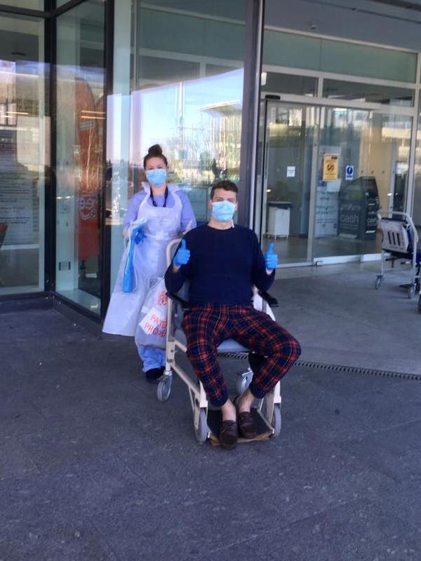 新型コロナ感染の牧師が退院、集中治療室から動画で注意喚起 WHO事務局長もシェア