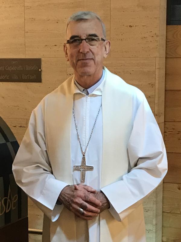 カトリック福岡教区司教に大阪教区のヨゼフ・アベイヤ補佐司教