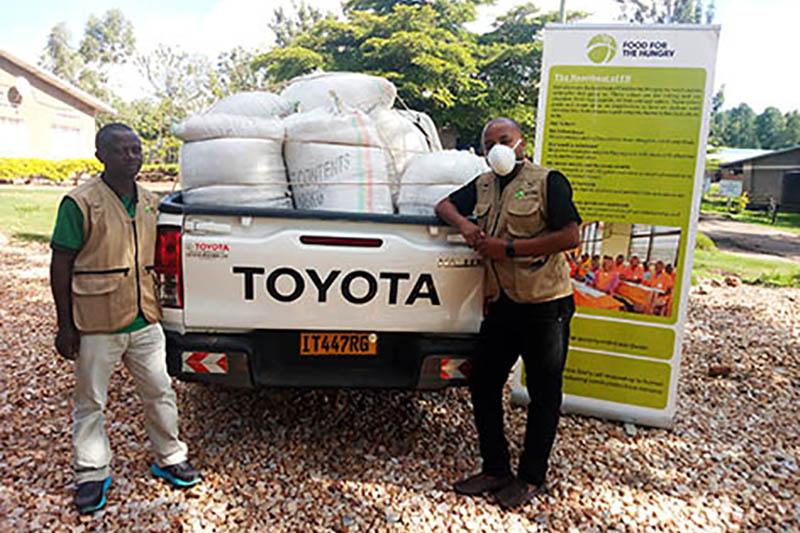 ハンガーゼロ、新型コロナで緊急救援募金 支援地で食料配布や保健衛生改善活動