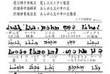 新・景教のたどった道(30)東方景教徒の賛美歌・大秦景教三威蒙度讃のシリア語(2) 川口一彦