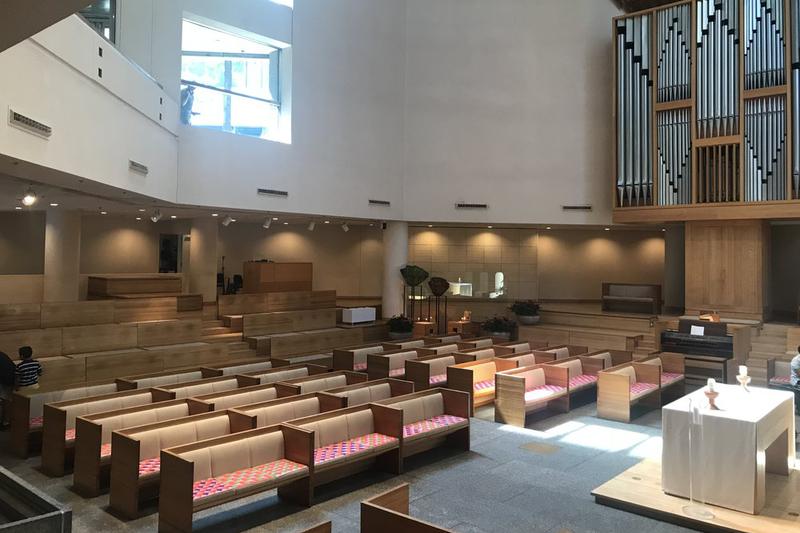米ニューヨークの聖ペテロ教会。米国福音ルーテル教会(ELCA)に属する教会で、信徒の中には滞在資格のない移民も多くおり、新型コロナウイルスにより40人近くが亡くなった。(写真:同教会のホームページより)