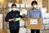 キリスト教NGOが医療・福祉施設に除菌水の無料配布
