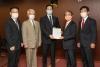核兵器廃絶求め提言文を政府提出 WCRP日本委とPNND日本