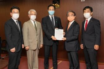 核兵器廃絶求め共同提言文を政府に提出 WCRP日本委とPNND日本