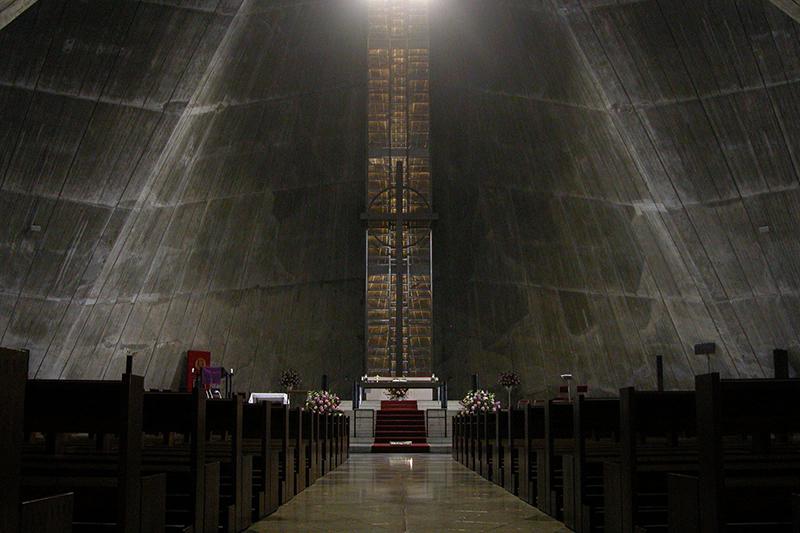 カトリック東京大司教区の司教座聖堂(カテドラル)であるカトリック関口教会(東京都文京区)。「東京カテドラル聖マリア大聖堂」の名で知られている。(写真:Shinjuku1)
