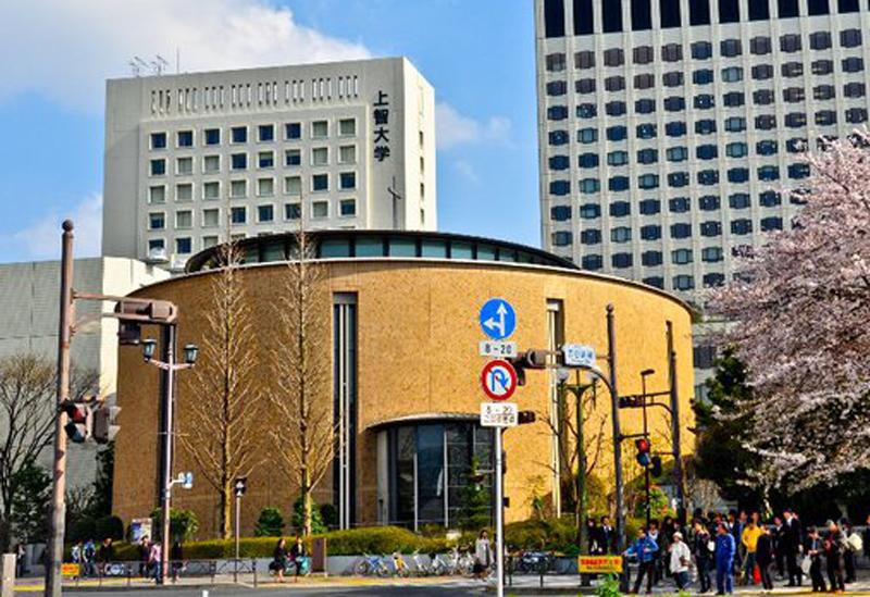 上智大学の四谷キャンパス(東京都千代田区、写真:John Paul Antes)