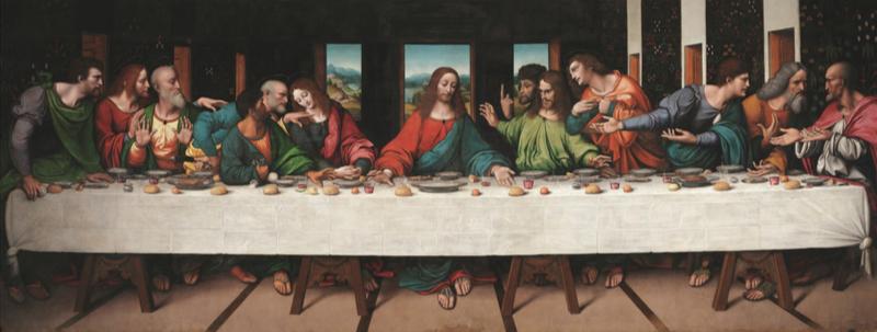 超高解像度で見る「最後の晩餐」 グーグルと英王立芸術院の協力で実現