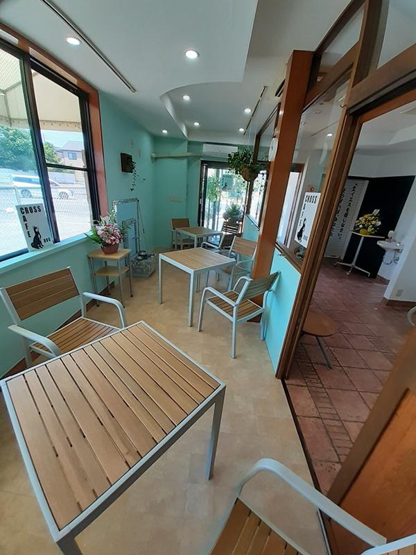 人が行き交い、笑顔がこぼれる場に 教会1階に「CROSS CAFE」オープン