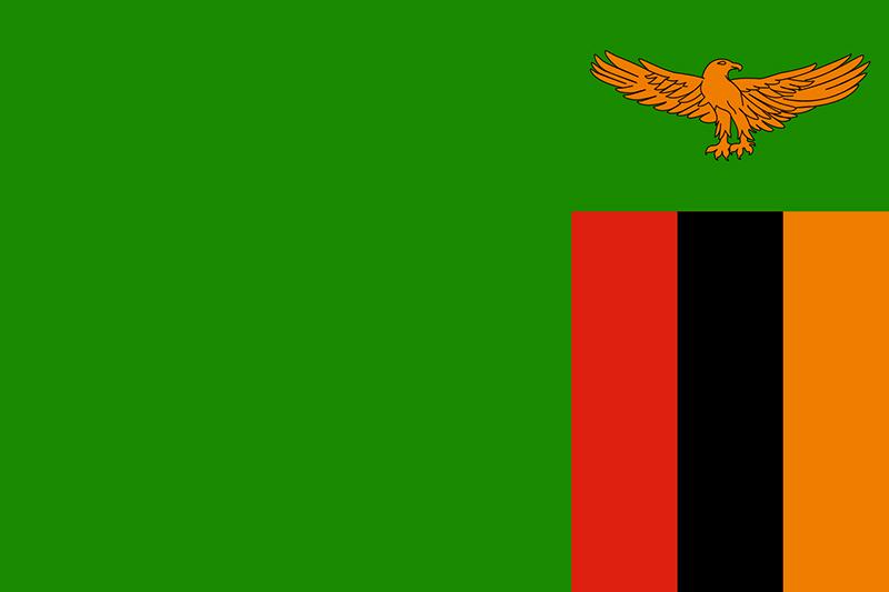 ザンビアの国旗
