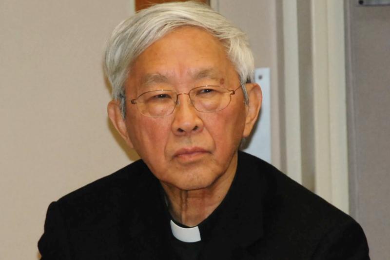 前カトリック香港司教の陳日君(ジョセフ・ゼン)枢機卿(写真:ボイス・オブ・アメリカ=VOA)
