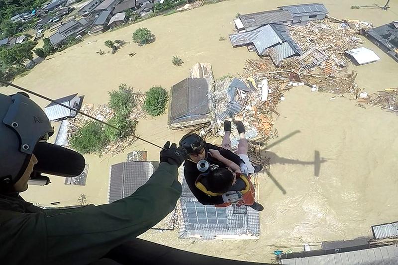 九州南部豪雨、キリスト教団体も支援開始 避難所や被災者に物資配布