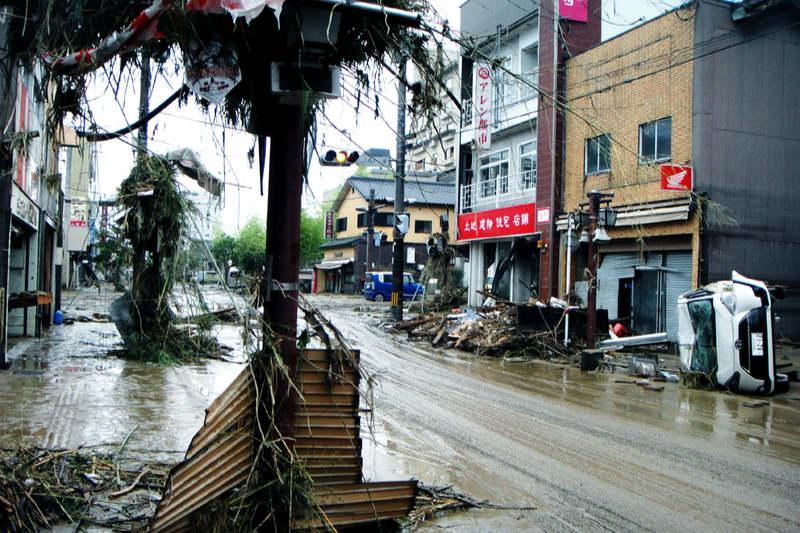 九州豪雨、神戸国際支縁機構が現地入り 熊本県芦北町、人吉市で第1次ボランティア
