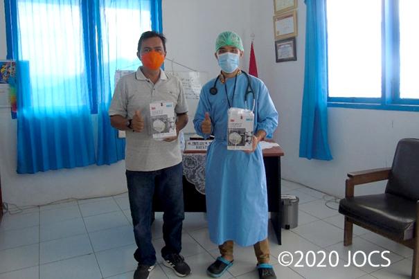 JOCS、感染拡大続くインドネシアの病院に緊急支援