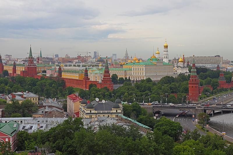 ロシア大統領府が置かれているクレムリン(写真:A.Savin)