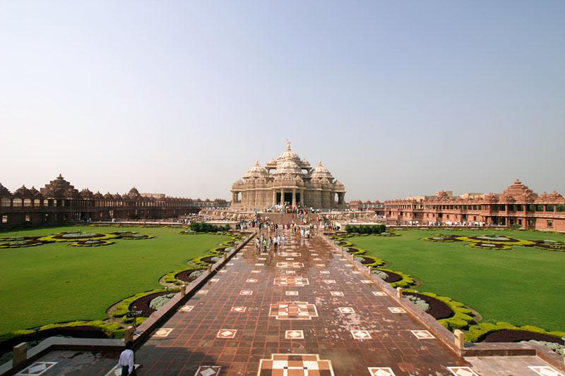 インドのデリーにあるアークシャルダーム寺院(写真:Juthani1)
