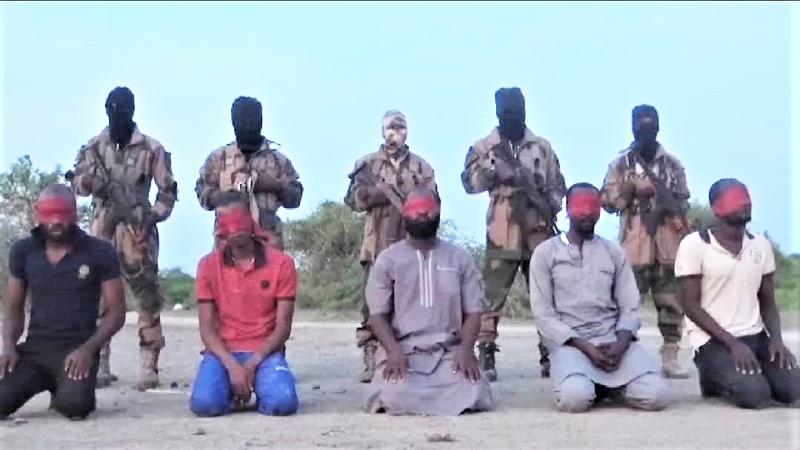 22日に公開された処刑映像のキャプチャー画像(画像:モーニング・スター・ニュース)
