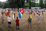 スイスで「国家祈祷日」 コロナ禍の中、千人が屋外で祈りささげる