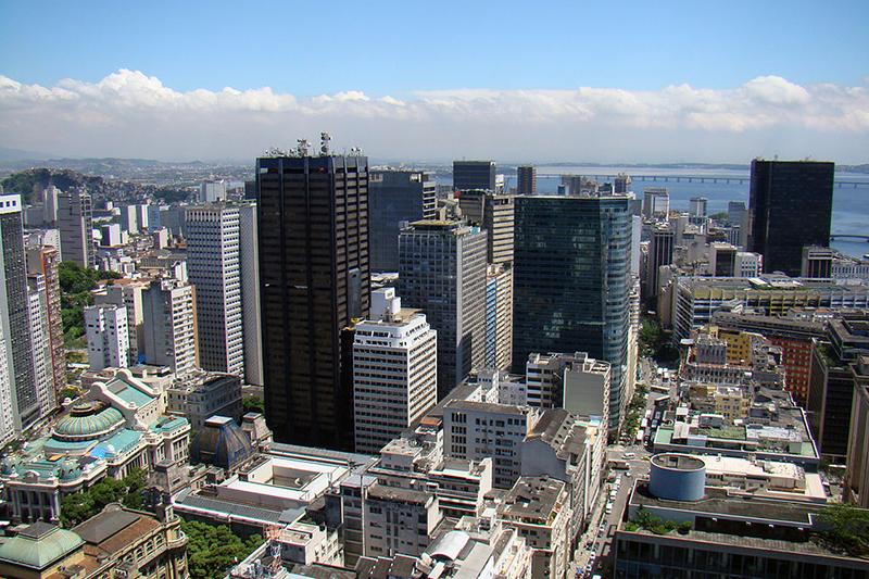 リオデジャネイロの都市部(写真:Rodrigo Soldon)