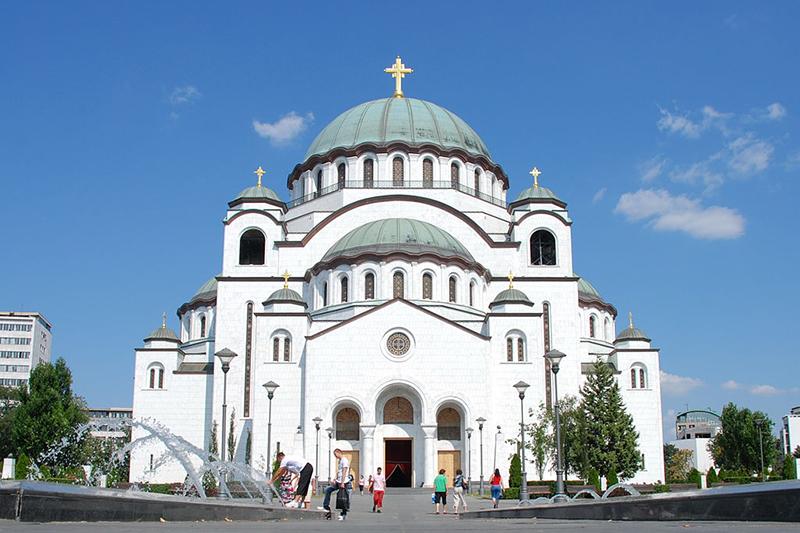 セルビアの首都ベオグラードにある聖サワ大聖堂(写真:George Groutas)