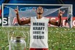 「私の力はイエス」バイエルンのダビド・アラバ、欧州制覇の優勝ピッチで