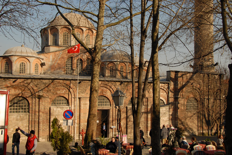 トルコ・イスタンブールにある「コーラ聖救世主教会」(別名・カーリエ博物館)(写真:np&djjewell)