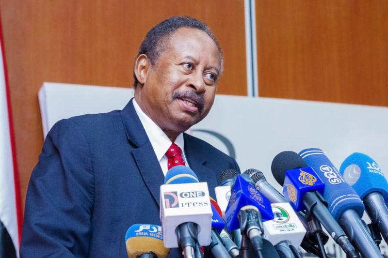 スーダンのアブダラ・ハムドク首相=2019年12月22日(写真:Ola A .Alsheikh)
