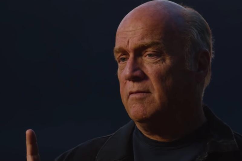 動画「希望のラッシュ」でメッセージを伝えるグレッグ・ローリー氏(画像:動画のスクリーンショット)