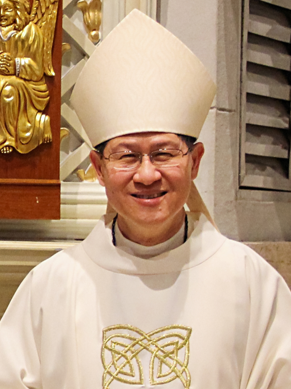 バチカン福音宣教省長官のタグレ枢機卿、コロナ感染