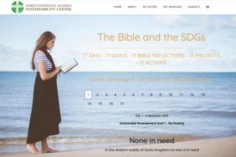「聖書とSDGs」 WEA、ローザンヌなどが共同でキャンペーン