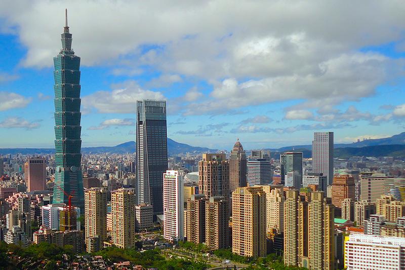 台湾の台北市(写真:Heeheemalu)