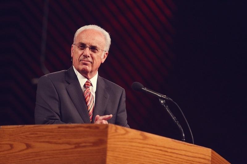 ジョン・マッカーサー牧師=2014年(写真:グレースコミュニティー教会)