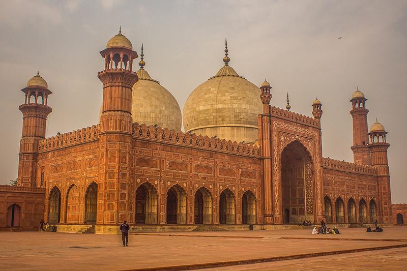 パキスタン東部ラホールのバードシャーヒーモスク(写真:Jalal.shahid)