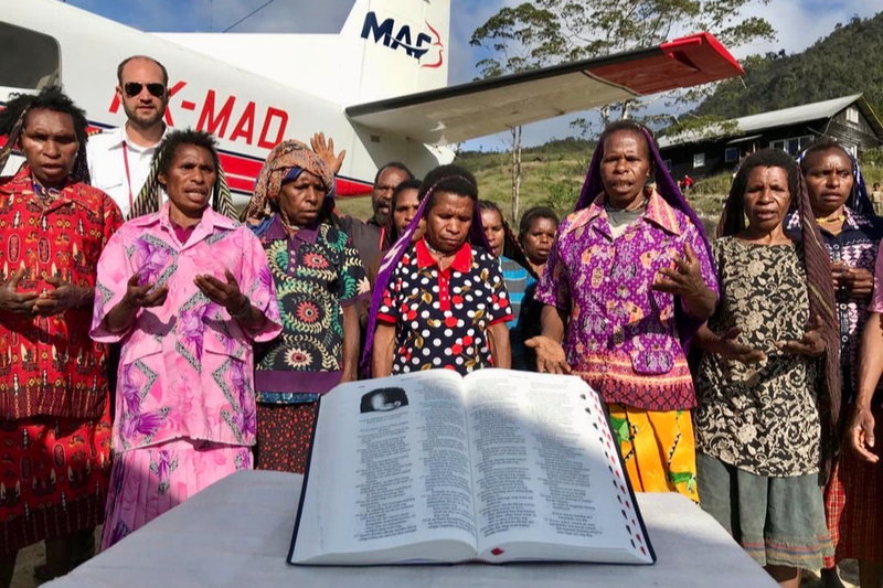 宣教師が命を懸けて伝えた福音 パプアのヤリ族に現地語聖書2500冊