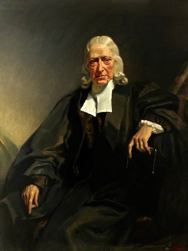 ジョン・ウェスレー(1703~91)(画像:Frank O. Salisbury)