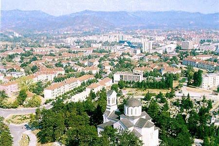 モンテネグロの都市ニクシッチ