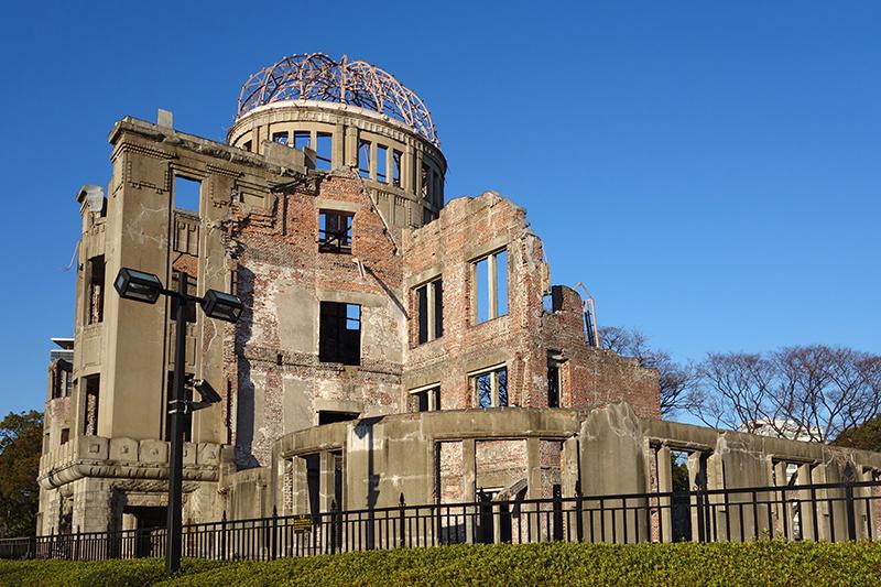 「原爆ドーム」の名で知られる広島平和記念碑(写真:Oilstreet)