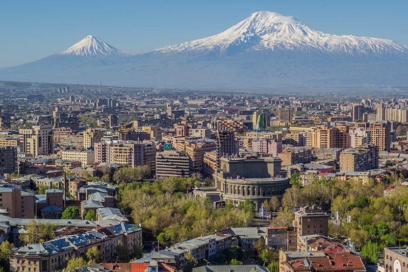 アルメニアの首都エレバン(写真:Serouj Ourishian)