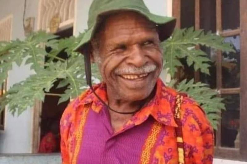 9月19日に殺害されたインドネシア福音タバナクル教会のエレミア・ザナムバニ牧師(写真:同教会のフェイスブックより)