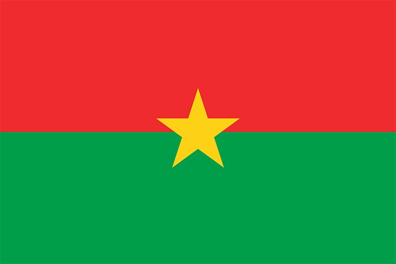 ブルキナファソの国旗