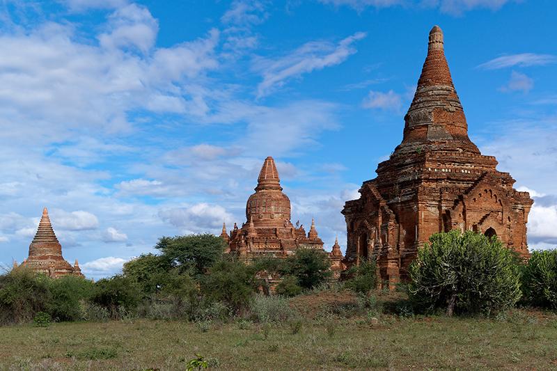 ミャンマーのバガン(写真:Jakub Hałun)