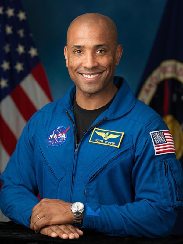 宇宙飛行士のビクター・グローバーさん(写真:米航空宇宙局=NASA / Robert Markowitz)<br />