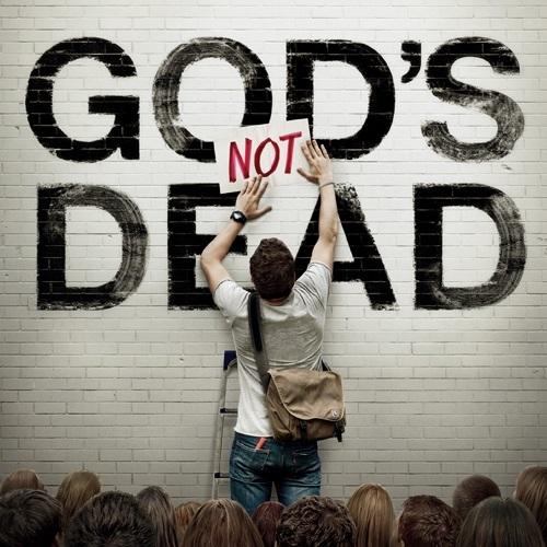 映画「神は死んだのか」のポスター(写真:「神は死んだのか」英語版フェイスブックページより)