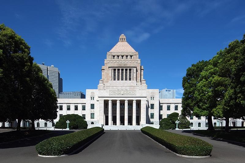 国会議事堂(写真:Wiiii)