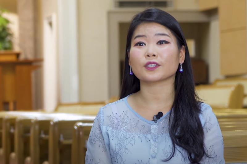 当時17歳のとき、北朝鮮東北部の両江道(リャンガンド)から国境を越えて中国に脱出し、3千マイル(約4800キロ)の旅をへて韓国に逃れたカン・スクヨンさん(画像:リバティー・イン・ノースコリアの動画より)