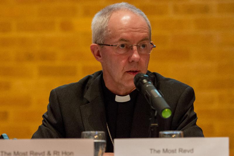 カンタベリー大主教ジャスティン・ウェルビー=2016年1月15日(写真:Anglican Archives)