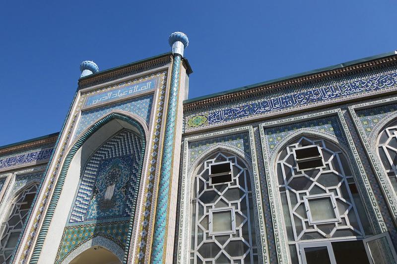 タジキスタンの首都ドゥシャンベにあるモスク(写真:leiris202)