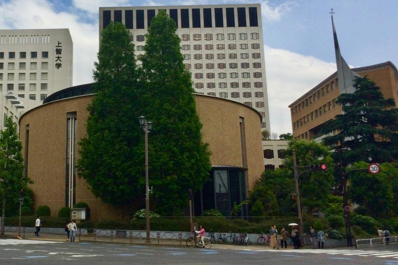 東京都千代田区の聖イグナチオ教会